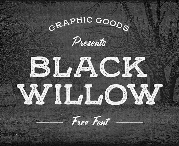 Black Willow free fonts