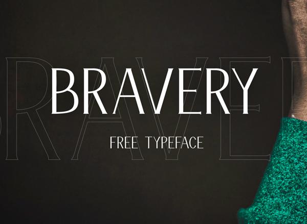 Bravery Free Font