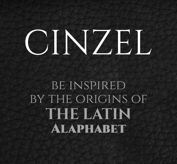 Cinzel Free Hipster Fonts