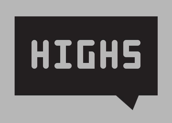 High 4 Free Font