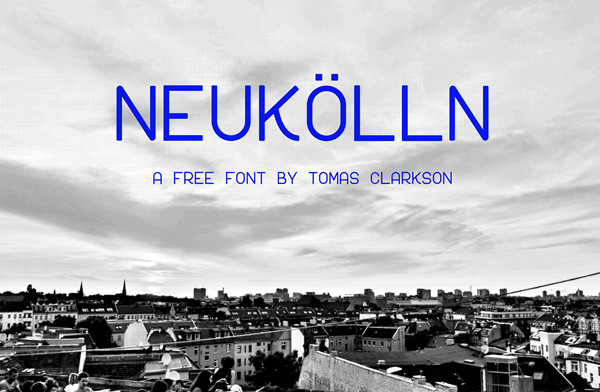 Neukölln Free Font
