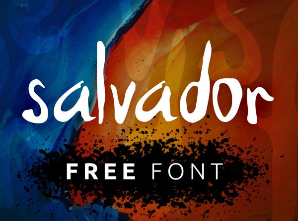 Salvador free fonts