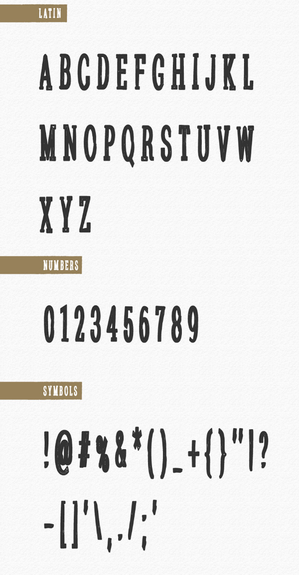Sanek fonts and letters