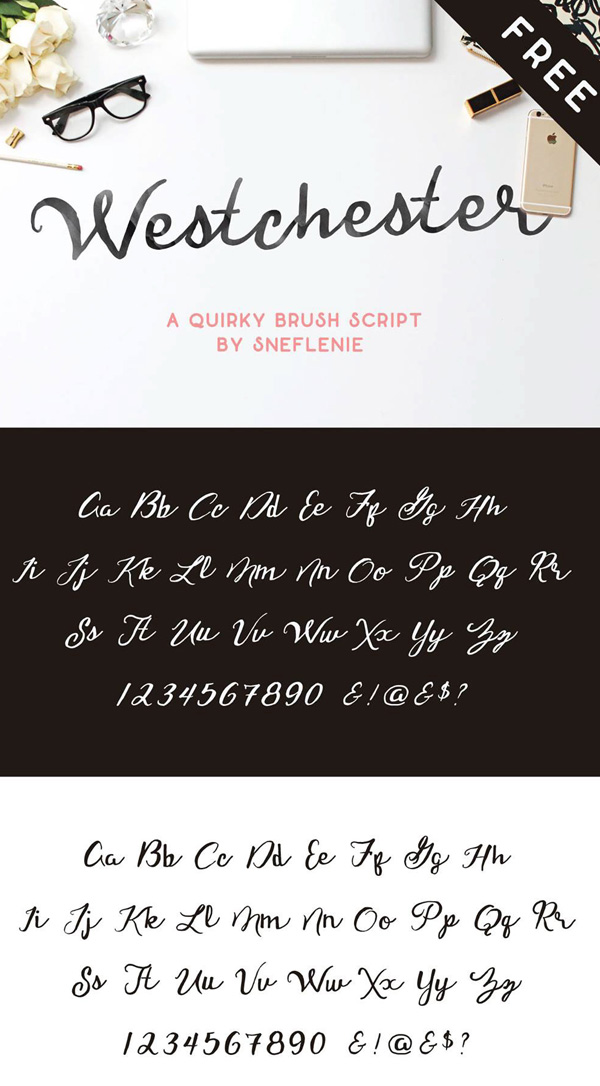 Westchester Free Font
