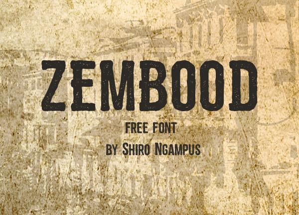 Zembood Free Hipster Fonts