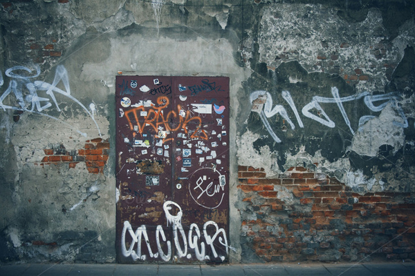 Urban Decay - Wall Abstract Photo