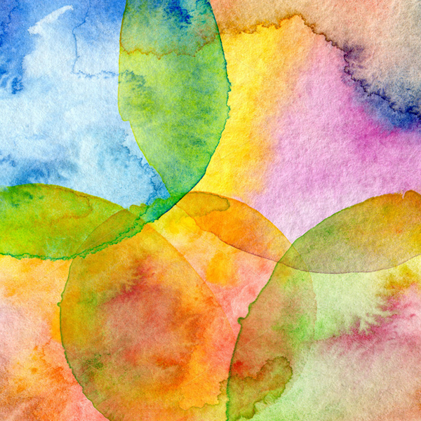 Watercolor Background Abstract Photo
