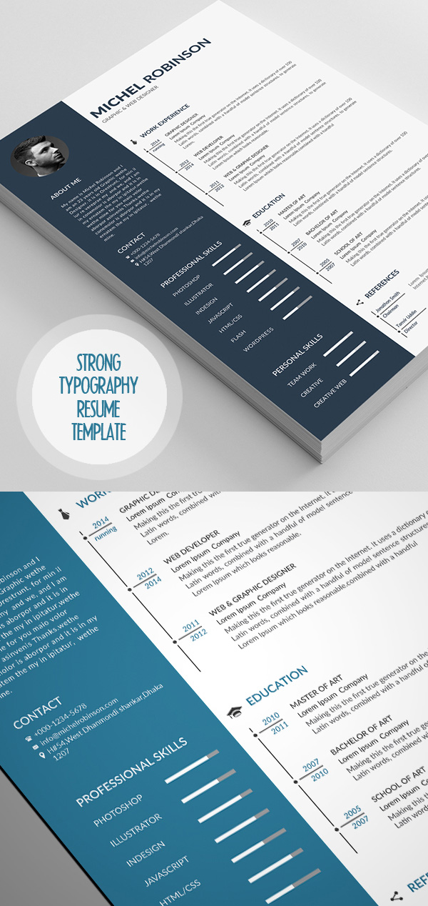 Clean and Simple CV/Resume & Cover Letter