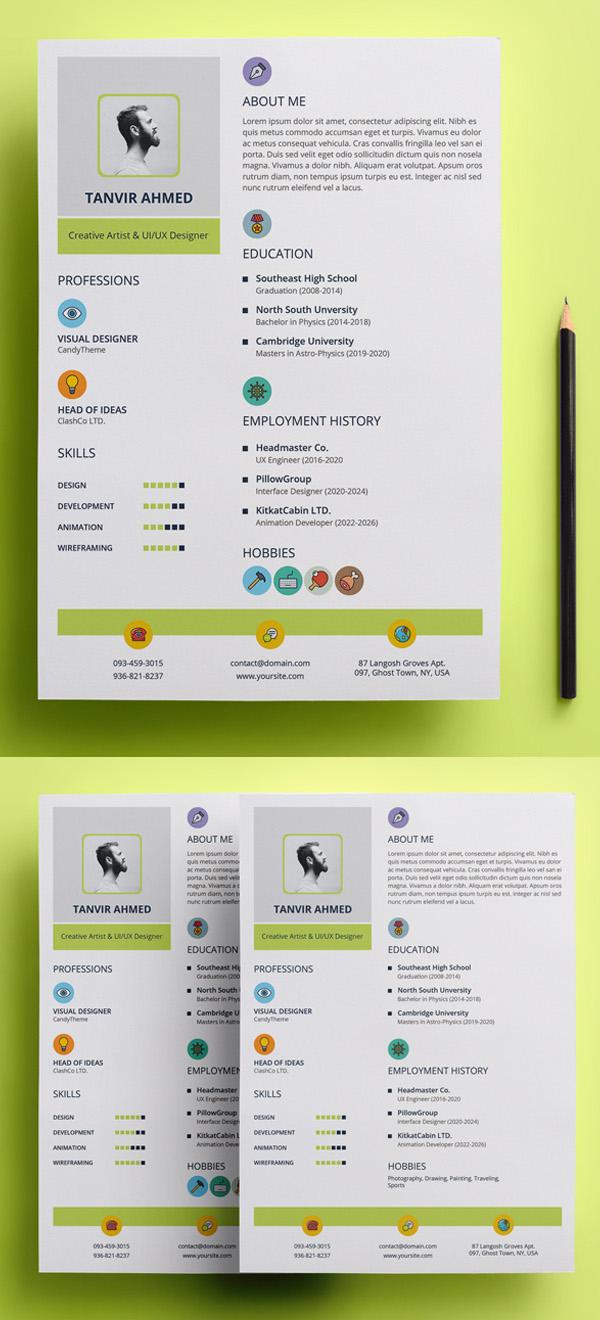 Creative Stylish Resume Template