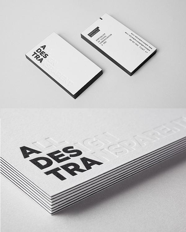 All Design Transparent: Self-Branding