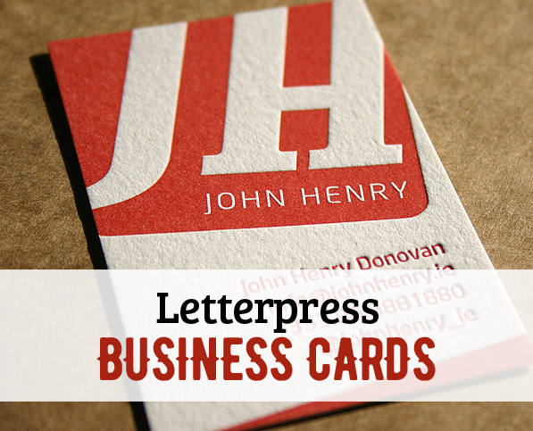 Letterpress Business Cards – 26 New Examples