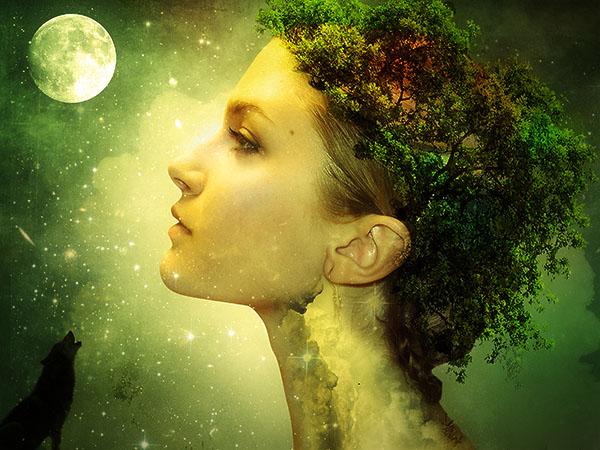 Create a Fantasy Nature Photo Manipulation in Photoshop