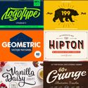 Post thumbnail of The Retro Design Toolbox: 62 Fonts & 1147 Graphic Elements