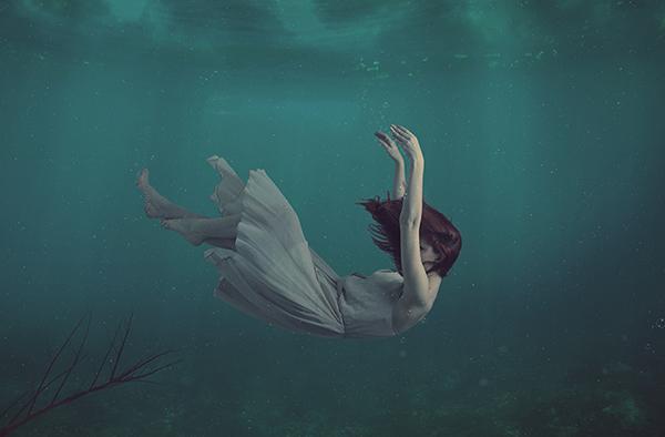 Create Beautiful Underwater Scene in Photoshop Tutorial