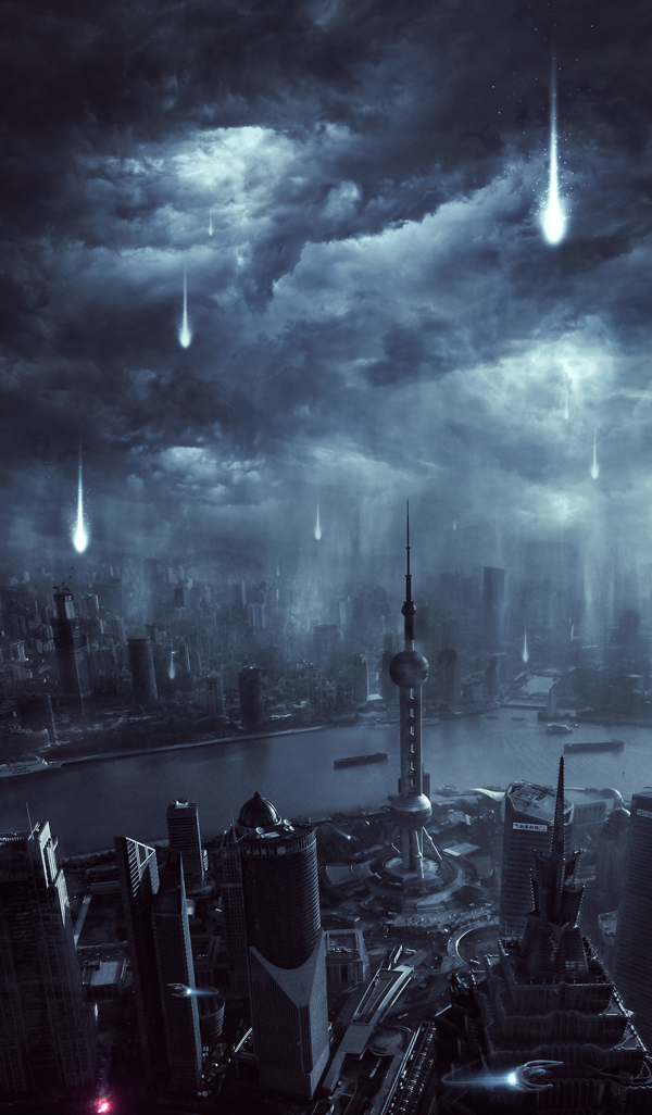 Learn How to Create Alien Invasion Scene In Photoshop