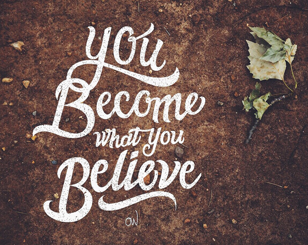 You become what you Believe by Michael Masinga