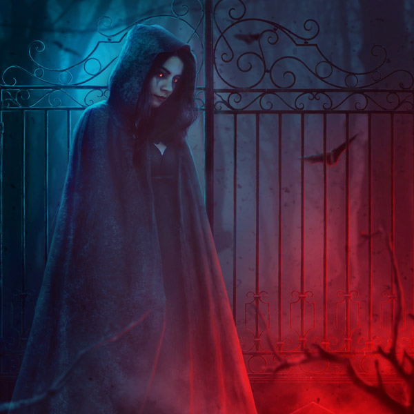 How to Create a Dark Lady Photo Manipulation With Adobe Photoshop