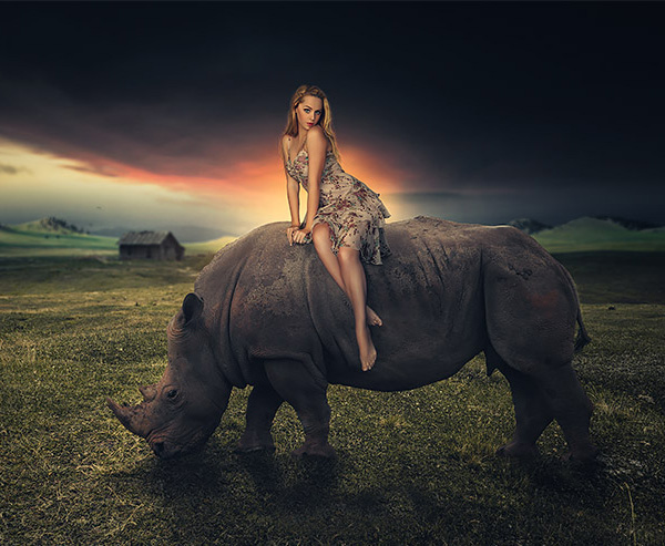 How to Create Dramatic Sunset Photoshop Manipulation in Photoshop Tut