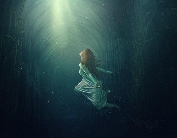 Create an Underwater Dreamscape Photo Manipulation in Photoshop