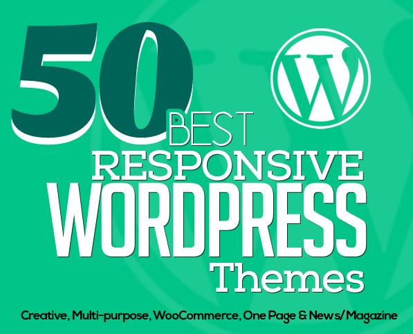 50 Best Responsive WordPress Themes