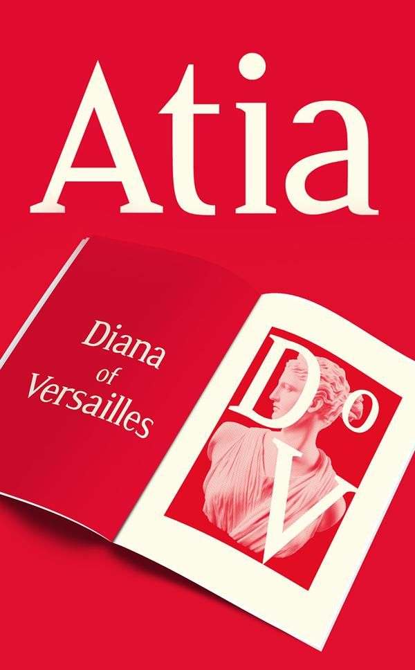 Atia free fonts