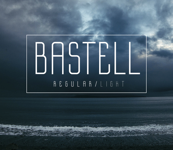 Bastell free fonts
