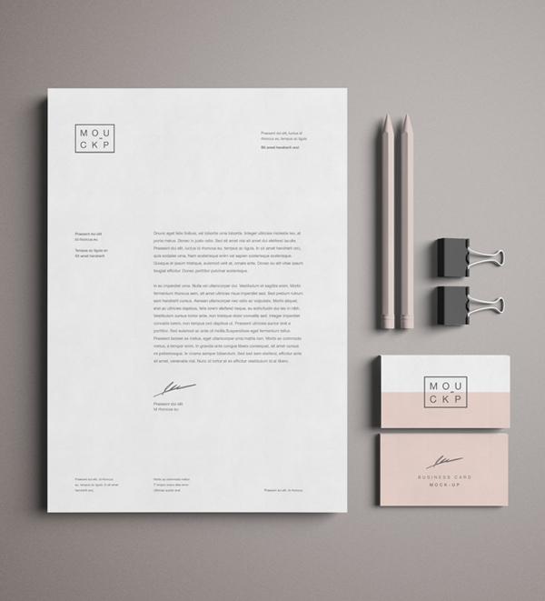 Free Advanced Branding & Stationery Psd Mockup