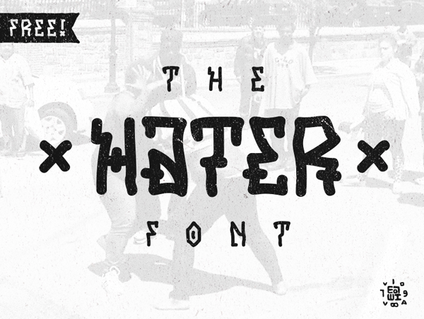 Hater Free Hipster Fonts
