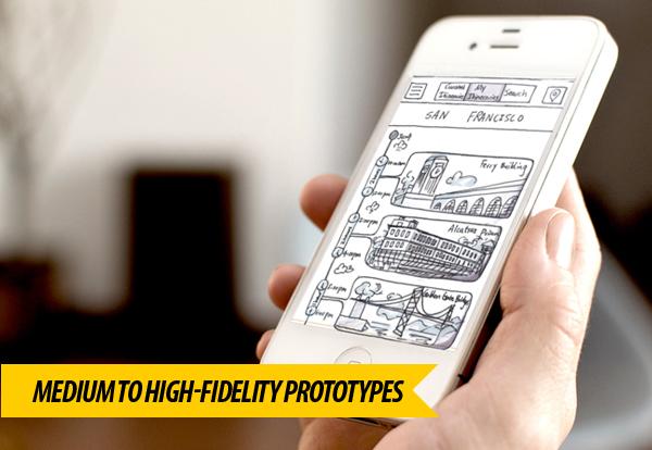 Medium to High-Fidelity Prototypes