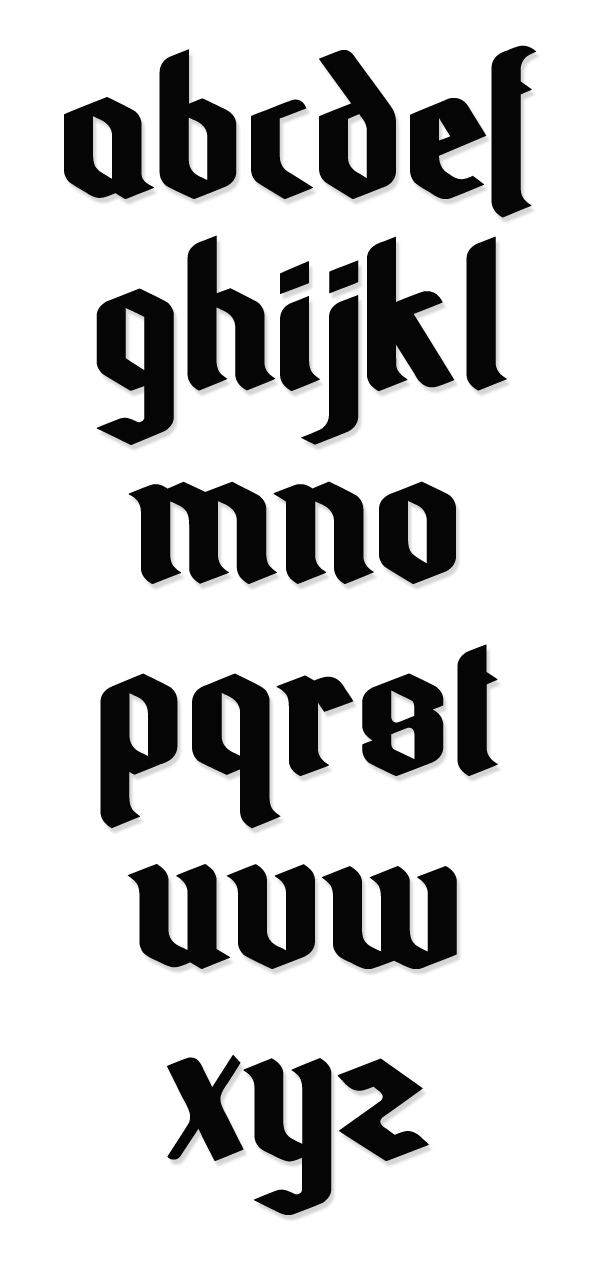 Odale Free Hipster Fonts and Letters