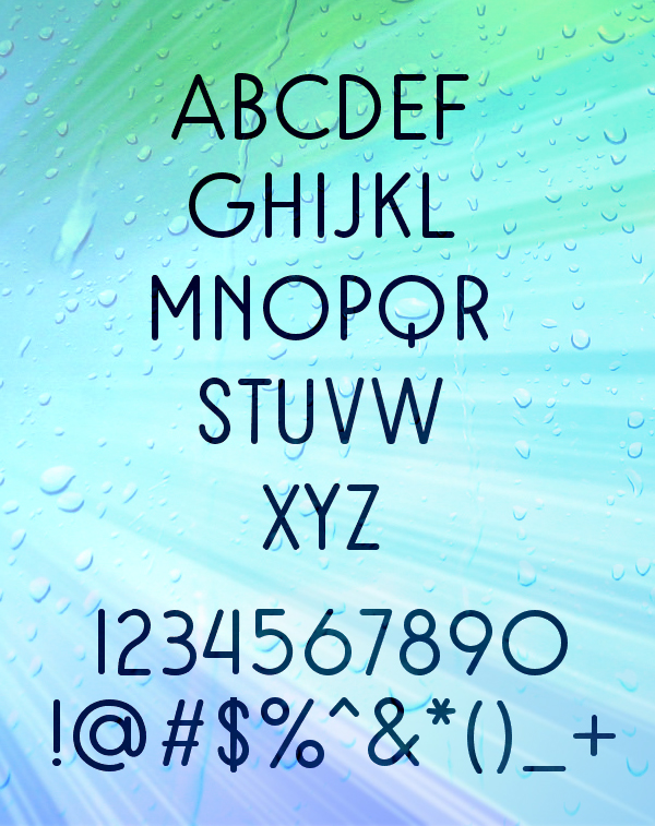 Rampung fonts and letters
