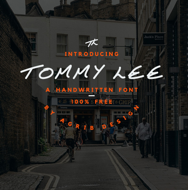 Tommy Lee free fonts