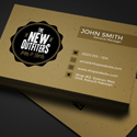 Post thumbnail of Freebie – Vintage Business Card PSD Template