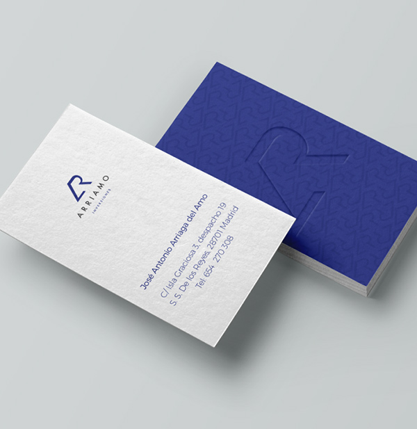 Arriamo Inversiones Business Cards