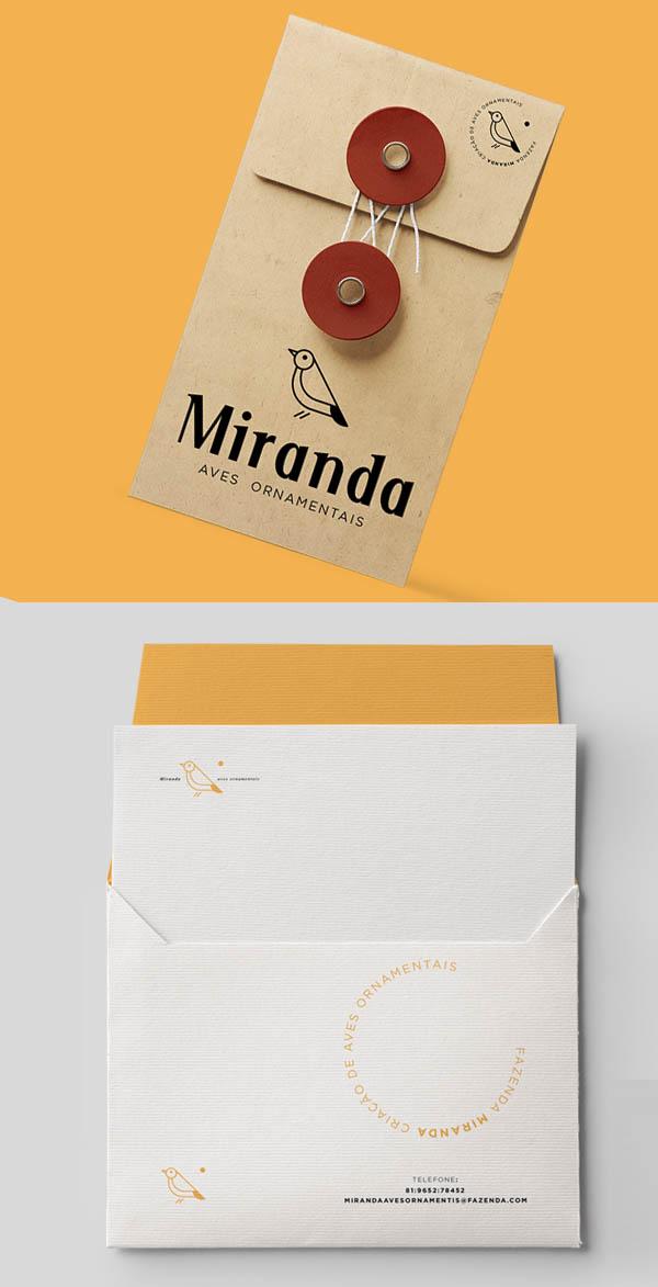 Fazenda Miranda Business Cards