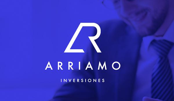 Arriamo Inversiones Logo design