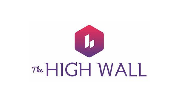The High Wall Logo design