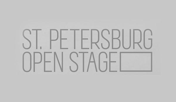 St. Petersburg Open Stage Logo design