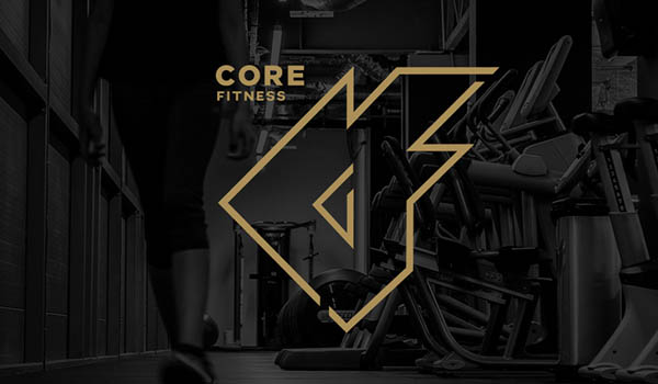 Core Fitness Logo design