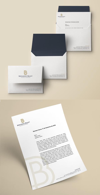 Bernardo Brant Branding Stationary