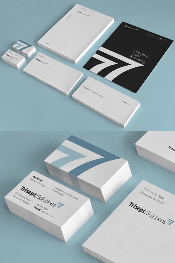 Trisept Solutions Branding Stationary