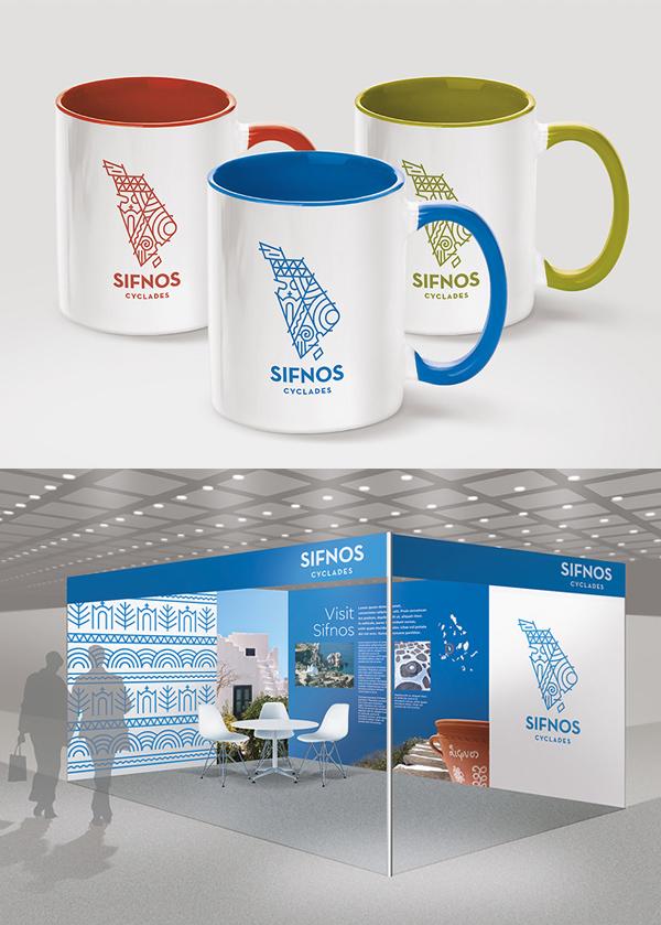Sifnos Island Branding Stationary
