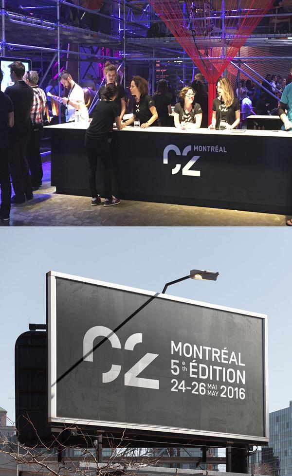 C2 MONTREAL Branding Stationary