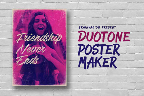 Duotone Poster Maker