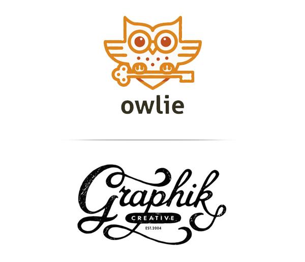 Line Art and Hand Drawn Logos