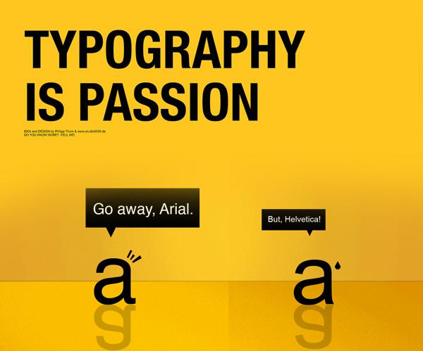 Helvetica Calibri Fonts