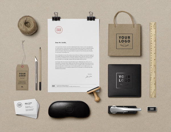 Free Branding / Identity MockUp