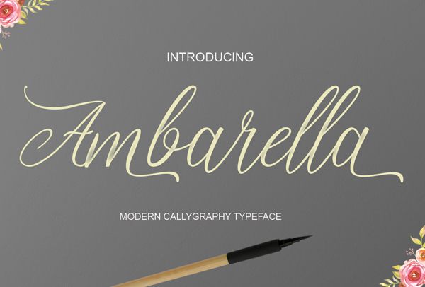 Best Free Script Fonts for Logo Design & Logotypes (20 Fonts) - 12