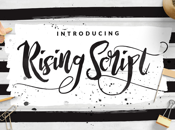 Best Free Script Fonts for Logo Design & Logotypes (20 Fonts) - 17