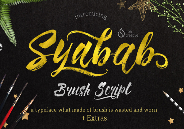 Best Free Script Fonts for Logo Design & Logotypes (20 Fonts) - 18